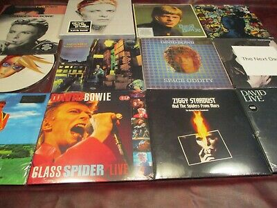 David Bowie Ziggy Stardust + Dvd & Live Santa Monica Numbered + Box Set + Bonus