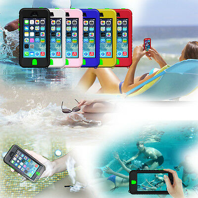 Newest UNDERWATER Waterproof Shockproof Dirt Proof Case Cover For iPhone 5 5S