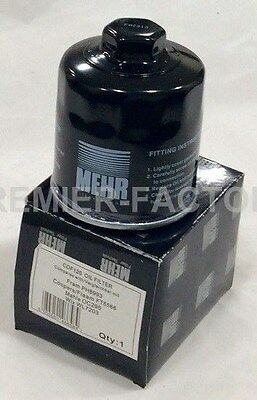 To Clear New Mehr Oe Quality Oil Filter Audi Seat Skoda Vw Cof120