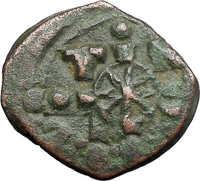JESUS CHRIST Ancient Christian Byzantine Nicephorus III Follis1078AD Coin i48624