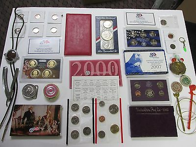 COINS LOT  SILVER COINS SET EISENHOWER DOLLAR+MINT PROOF NO RESERVE  #139