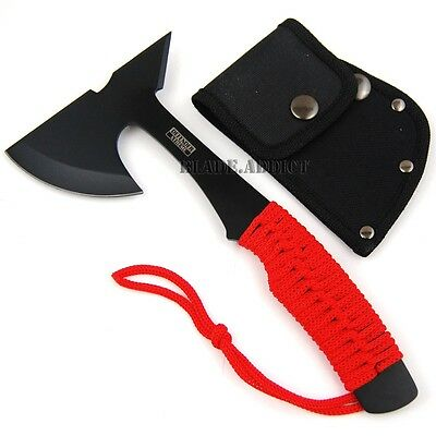 "9"" ZOMBIE SURVIVAL TOMAHAWK THROWING AXE BATTLE Hatchet knife hunting 7609-F"