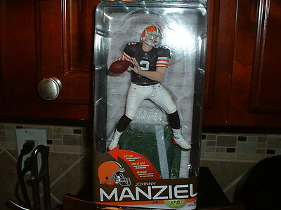 McFarlane NFL 35 JOHNNY MANZIEL CLEVELAND BROWNS NEW NEVER OPENED
