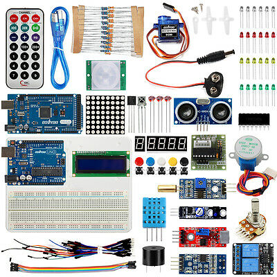 Starter kit for Arduino Projects UNO R3 Board Mega2560 Breadboard Shipping UK