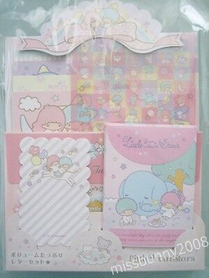 Original Sanrio 2015 Japan Little Twin Stars Letter Set Stationery Free Shipping
