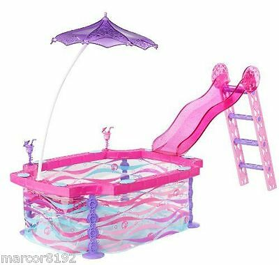 Barbie Life in the Deamhouse Barbie Glam Pool Playset for Barbie dolls New
