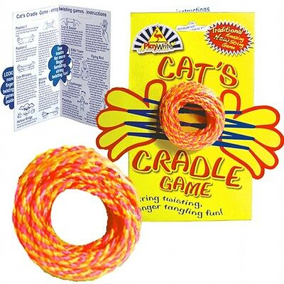 CLASSIC CATS CRADLE PLAYGROUND GAME SET with INSTRUCTIONS ~ PARTY BAGS