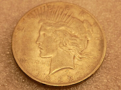 1922 $1 PEACE SILVER DOLLAR  - FAST SHIPPING - Listing #2