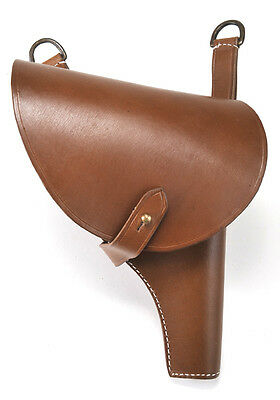 RUSSIAN M 1895 NAGANT LEATHER HOLSTER Grade #2