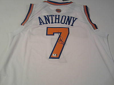 Carmelo Anthony New York Knicks Signed Autographed JERSEY CERTIFIED COA NBA