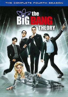 The Big Bang Theory: The Complete Fourth Season (DVD, 2011, 3-Disc  New & Sealed