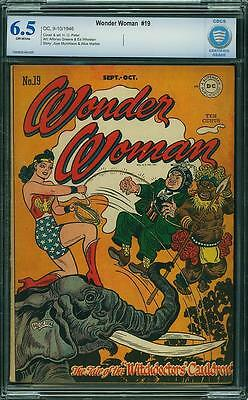 Wonder Woman #19 CBCS 6.5 1946 Superman! Justice League! JLA! like CGC! E3 cm