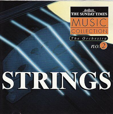 Strings CD - Sunday Times Music Collection - The Orchestra - Tchaikovsky Grieg