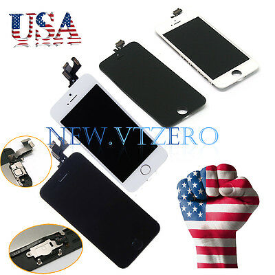 LCD Lens Touch Screen Display Digitizer Replacement Assembly+Tools For iPhone 5S