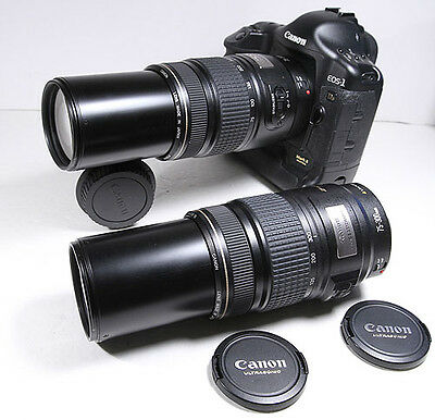 CANON EF 75-300mm IS Stabilizer USM lens for EOS 7D T4i T5i T3 70D 5D III 6D etc