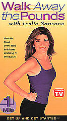 Walk Away the Pounds with Leslie Sansone - Get Up & Get Started: 1 Mile (VHS, 20