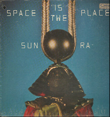 """JAZZ PSYCH LP - SUN RA """"SPACE IS THE PLACE"""" ON BLUE THUMB BTS 41"""