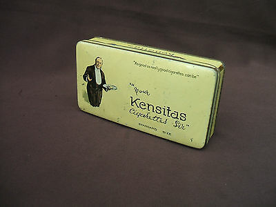 Old J.Wix Piccadilly London Butler Kensitas Cigarettes Tin circa 1930s