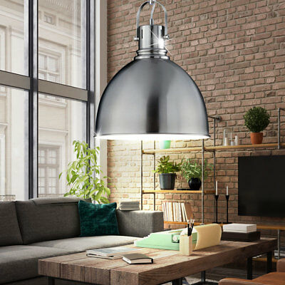 led 7 watt pendel leuchte vintage retro industrie lampe esszimmer decken licht eur 94 90. Black Bedroom Furniture Sets. Home Design Ideas