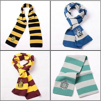 Cosplay Gift écharp Harry Potter Gryffindor/Slytherin/Hufflepuff/Ravenclaw Scarf