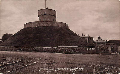 Drogheda, Co. Louth. Millmount Barracks by Valentine's.
