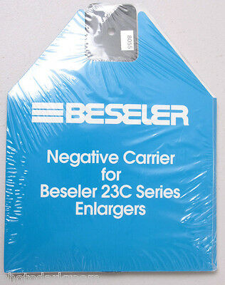 Beseler 23C Negative Carrier 35mm Full FF Film 25x37mm Opening #8055 - NEW N718