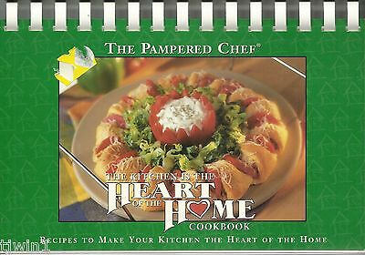 THE PAMPERED CHEF THE KITCHEN IS THE HEART OF THE HOME SPIRAL BOUND COOKBOOK