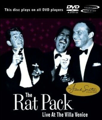 Rat Pack Live at the Villa Vanice FRANK SINATRA DEAN MARTIN DVD-AUDIO 5.1 SRND