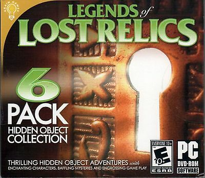 RELICS OF FATE: A PENNY MACEY MYSTERY Hidden Object 6 PACK PC Game DVD NEW