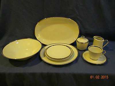 """Mitterteich Bavaria Germany """"Prelude"""" China 8 Place Settings (45) pieces"""