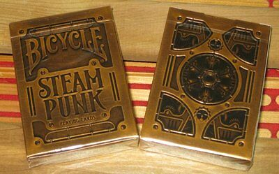 Bicycle Steam Punk Playing Cards By Theory 11 Made In Usa 1 Deck New Sealed