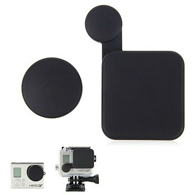 1 Set Protective Lens Cap+Housing Case Protector Cover for GoPro Hero 3 Camera