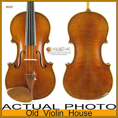 Copy of a 19th Century Italian Violin (4/4) #6047. The Perfect Varnishing.