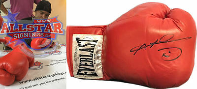 Sugar Ray Leonard Signed Everlast Boxing Glove See Proof Hearns Duran Hagler