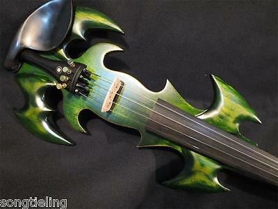 The Best SONG Brand Top art streamline 4/4 electric violin,solid wood # 9033