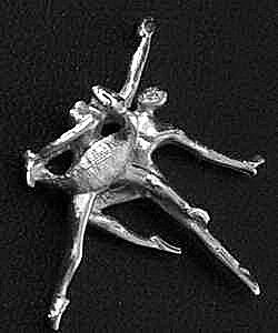 AUTH So you think you can Ballet Dance Charm Sterling Silver