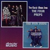 THE FOUR PREPS CD ON CAMPUS CAMPUS ENCORE 2 LPS ON 1 CD MINT COLLECTOR'S CHOICE