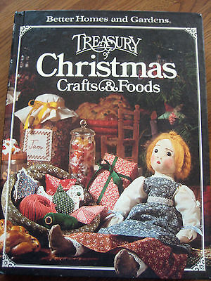 Better Homes and Gardens Treasury of Christmas Crafts & Foods 1980 Baking Eng Hd