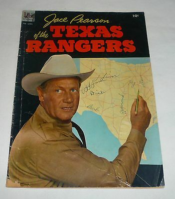 1954 western tv show comic JACE PEARSON OF THE TEXAS RANGERS #5