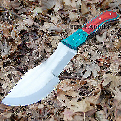 """11.5"""" The Hunted Style Tracker Survival Tactical Hunting Knife Hatchet AXE05-T"""