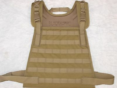 New Military usgi Army Blackhawk strike plate carrier Coyote tan Medium US GI