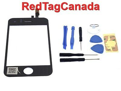 LCD Digitizer Glass Touch Screen Replacement For iPhone 3GS Black - Canada