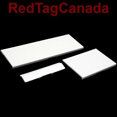 White Replacement Door Slot Cover Lid Part for Nintendo Wii Console System - CAN
