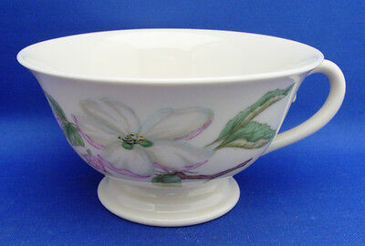 Cup Only Franciscan CHELAN Pink White Blossoms Cream Color No Trim Excellent