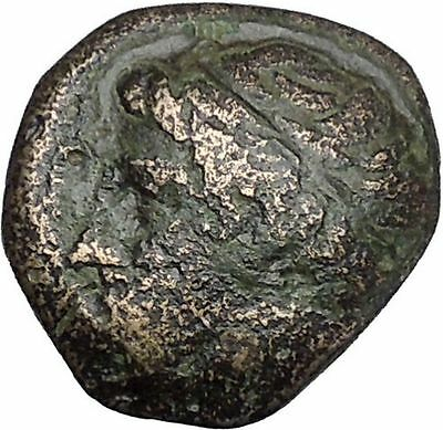 Philip II Alexander the Great Dad OLYMPIC GAMES Ancient Greek Coin Horse i48979