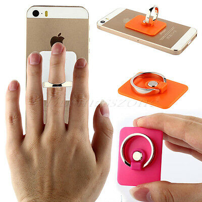 Universal Rotating Ring Finger Plastic Metal Stand For Phone Tablet Devices