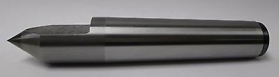 # 3 Morse Taper Half (Dead) Lathe Center - Carbide Tipped