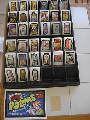 Wacky Packages Old School 4 Complete Master TAN Back Set 67 Cards Total WOW LOOK