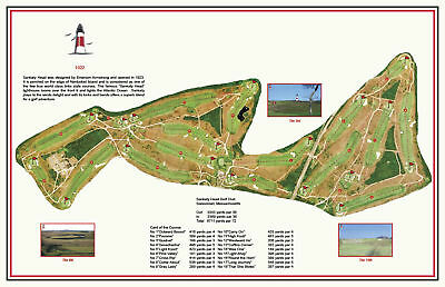 Sankaty Head Golf Club 1921 Emerson Armstrong -  VintageGolfCourseMap