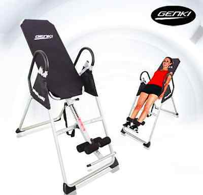 NEW  Inversion Table Height Adjustable Exercise PRO Folding Table size: 110 x 49